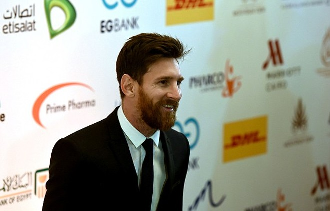 Messi tới Ai Cập dẫn đầu chiến dịch chống bệnh viêm gan C