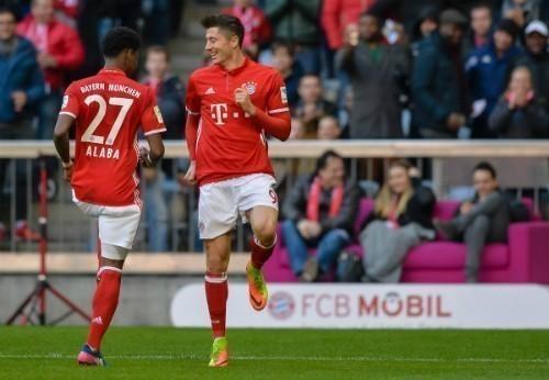 Lewandowski lập hat-trick, Bayern thắng 8-0 tại Bundesliga