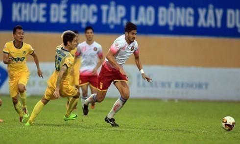 CLB Sài Gòn kiến nghị trọng tài về 'bàn thắng bị cướp' ở V-League