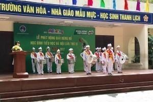 Phát động Giải Bóng rổ học sinh tiểu học Hà Nội lần thứ XI