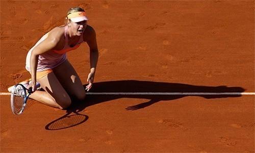 Sharapova không được dự Roland Garros 2017