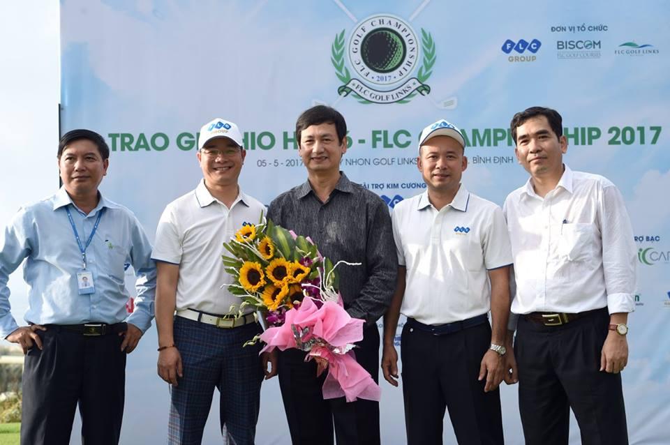 Golfer Trần Phương nhận giải HIO trước thềm Biscom Golf Tournament 2017