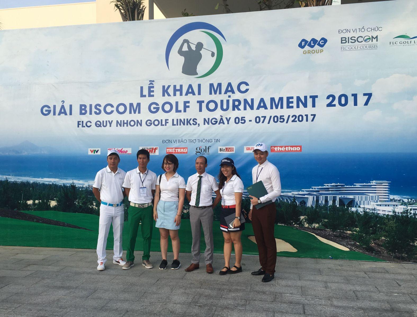 Biscom Golf Tournament 2017 chính thức khởi tranh với hơn 700 golfer tham dự