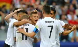 Thắng đậm Cameroon, Đức gặp Mexico ở bán kết