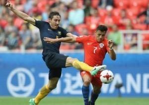 Đánh mất lợi thế, Chile phải gặp Bồ Đào Nha ở bán kết