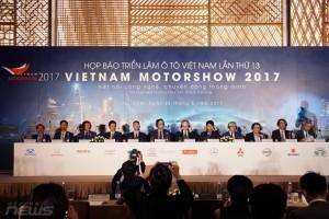 VietNam Motorshow 2017 sẽ diễn ra tại TP Hồ Chí Minh