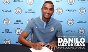 Man City mua xong Danilo, hoàn tất cuộc cách mạng hàng thủ