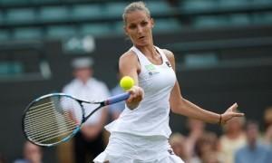 Pliskova lên số một thế giới dù bị loại từ vòng hai Wimbledon