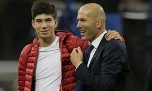 Con trai Zidane đặt mục tiêu lên đội một Real