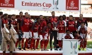 Arsenal vô địch Emirates Cup