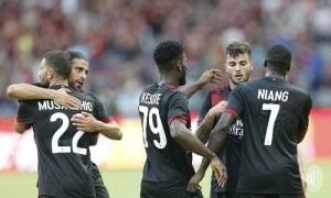 AC Milan thắng trận đầu tiên sau ba năm ở Cup châu Âu