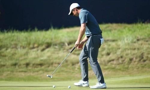 McIlroy tập luyện suốt cuối tuần để chuẩn bị cho British Open