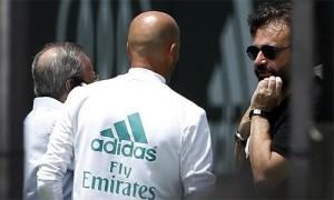 Zidane họp khẩn với lãnh đạo Real Madrid về Mbappe