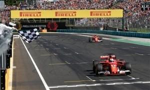 Vettel vô địch GP Hungary, nới rộng cách biệt với Hamilton