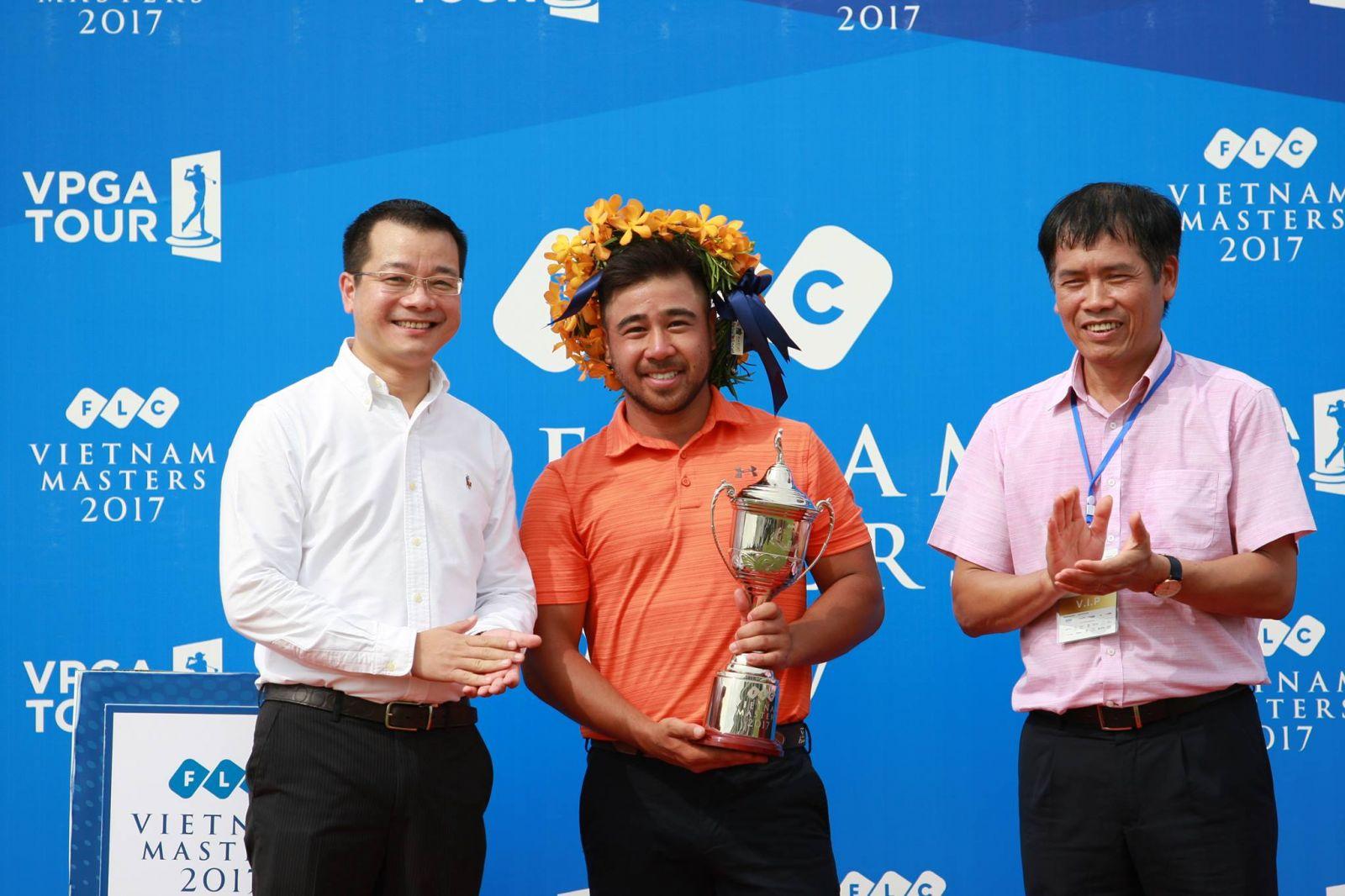 FLC Vietnam Masters 2017: Andy Chu Minh Đức lên ngôi vô địch