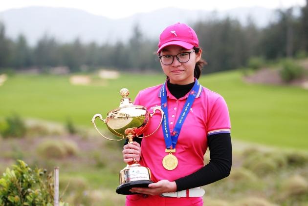 Giành chức VĐQG, Đoàn Xuân Khuê Minh đi vào lịch sử golf Việt