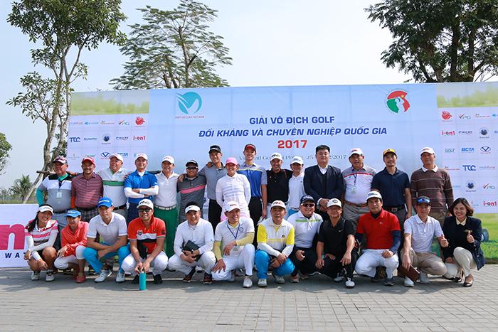 Giải vô địch golf Đối kháng và Chuyên Nghiệp Quốc gia 2017 chính thức khởi tranh