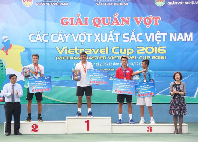 Giải quần vợt các Cây vợt xuất sắc Việt Nam – Vietravel Cup 2017 chuẩn bị khởi tranh