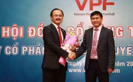 Ông Trần Anh Tú, được bầu vào vị trị Chủ tịch HĐQT VPF (nhiệm kỳ 2017-2020)