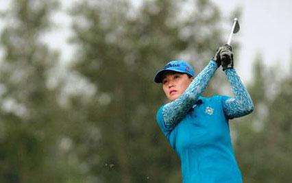 Vòng 1 Bảng A, giải VĐQG Nữ: Golfer Nguyễn Thị Vân Anh dẫn đầu bảng xếp hạng