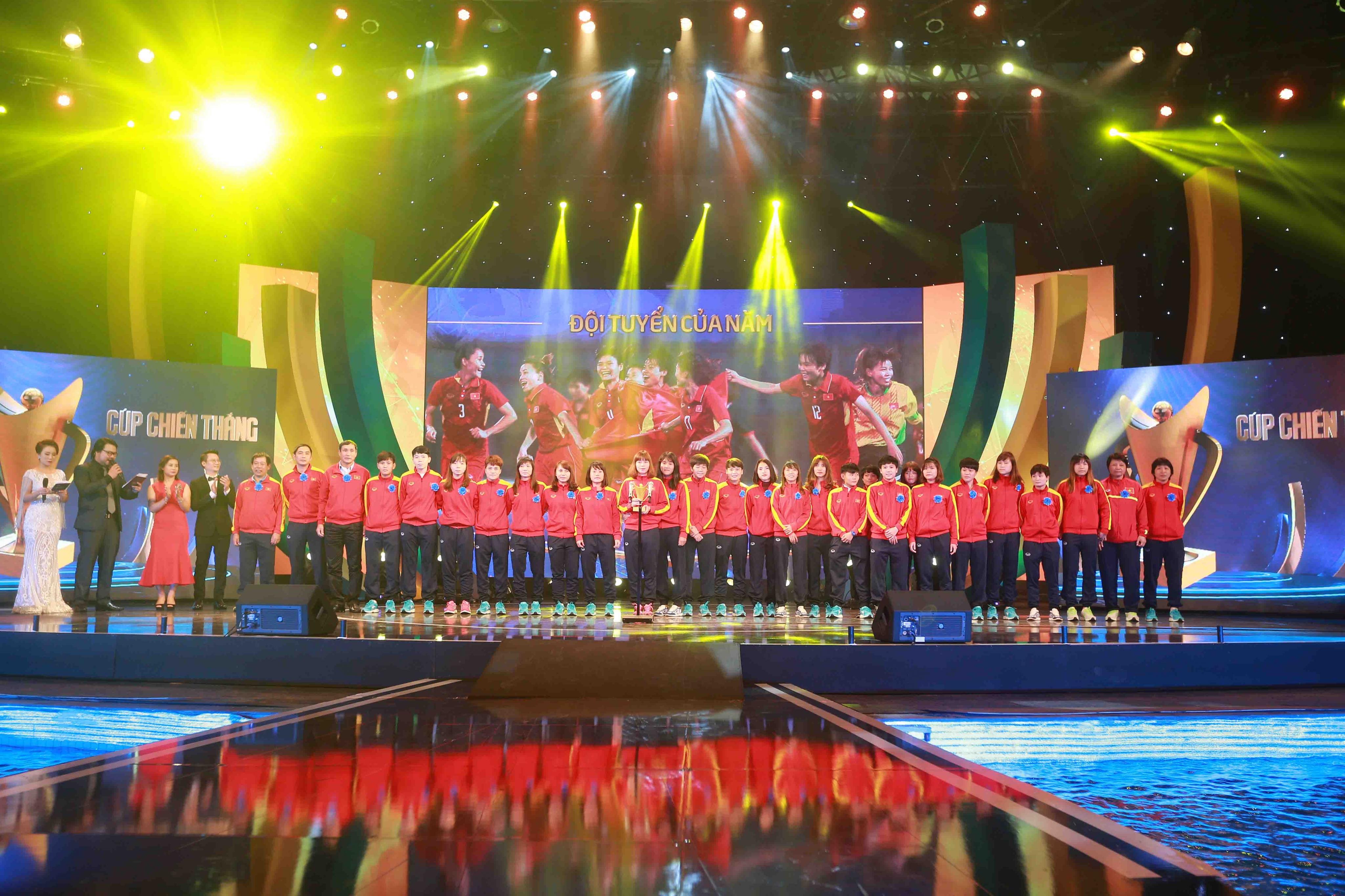 Gala trao giải Cúp Chiến thắng - Oscar của Thể thao Việt Nam năm 2017
