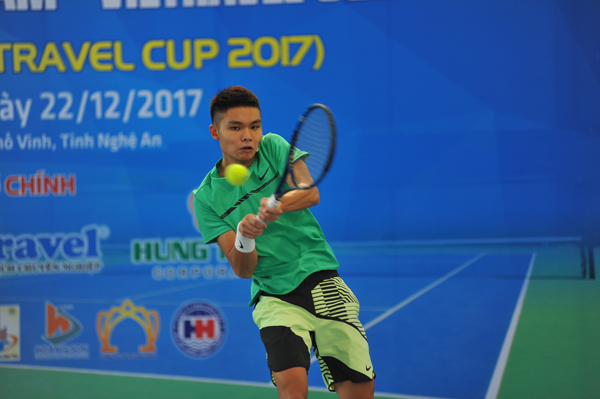 Tập trung tập huấn Đội tuyển quần vợt dự Davis Cup Việt Nam năm 2018