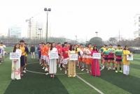 Nhà hát Tuổi trẻ tổ chức giải bóng đá Tuổi trẻ hành động vì cộng đồng lần 2