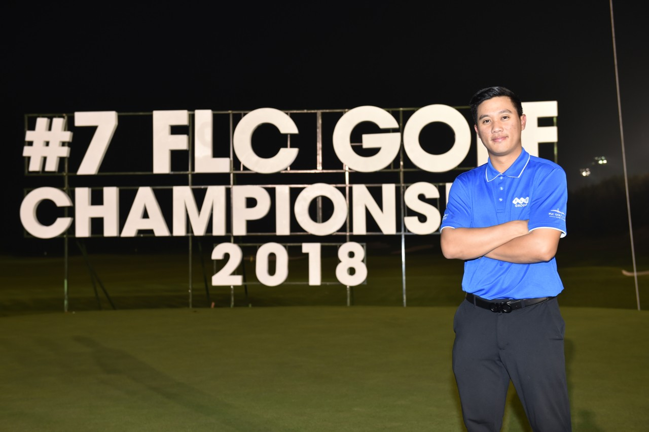 Golfer nổi tiếng người Lào hi vọng giành được HIO tại FLC AMD Golf Tournament 2018