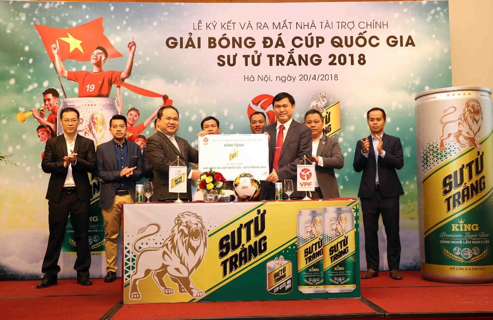 Ra mắt Giải bóng đá cúp quốc gia – SƯ TỬ TRẮNG 2018