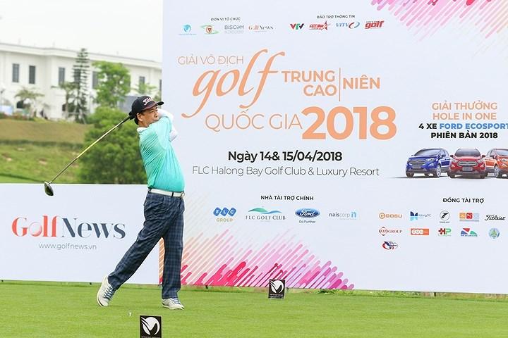 Khai mạc giải Vô địch golf Trung - Cao niên Quốc gia 2018