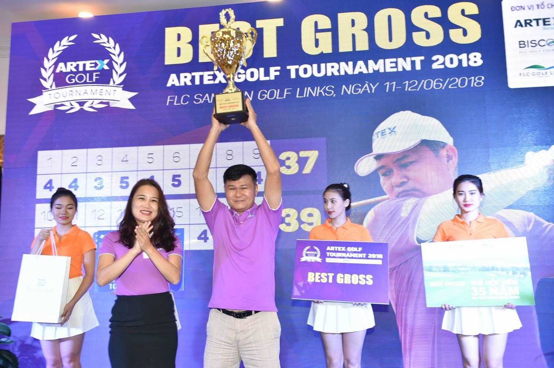 Golfer Đường Ngọc Dương lên ngôi tại Artex Golf Tournament 2018