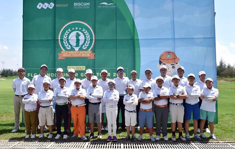Khởi tranh giải FLC Hanoi Junior Golf Tour 2018