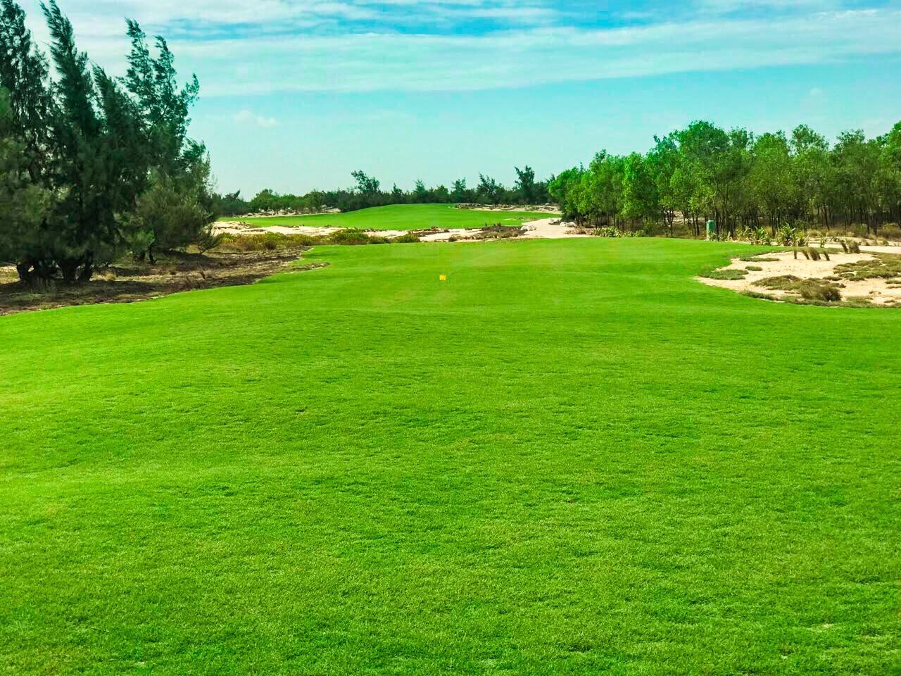 Thi công thần tốc, FLC Quang Binh Golf Links đón golfer đánh giải ngay tháng 7 này
