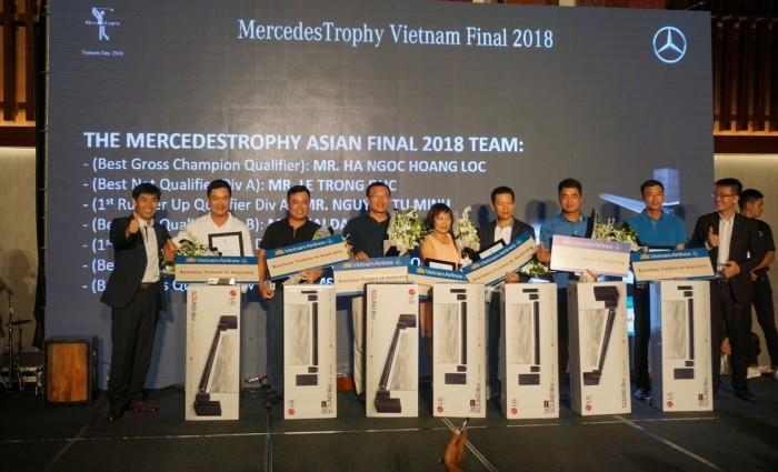 Chung kết QG MercedesTrophy Việt Nam 2018: Khẳng định tài năng gôn thủ Việt