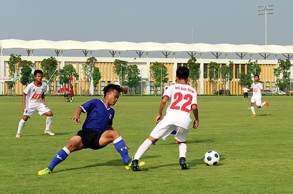 Giải Bóng đá Thiếu niên Nhi đồng toàn Quốc 2018 Cúp VPP Hồng Hà: Xác định được 4 đội tham dự vòng Bán kết