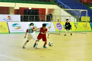 Xác định 8 đội vào tứ kết Giải bóng đá Nhi đồng toàn quốc – Cup Viettel 2018