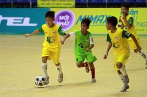 Xác định 4 đội vào Bán kết Giải bóng đá Nhi đồng toàn quốc 2018