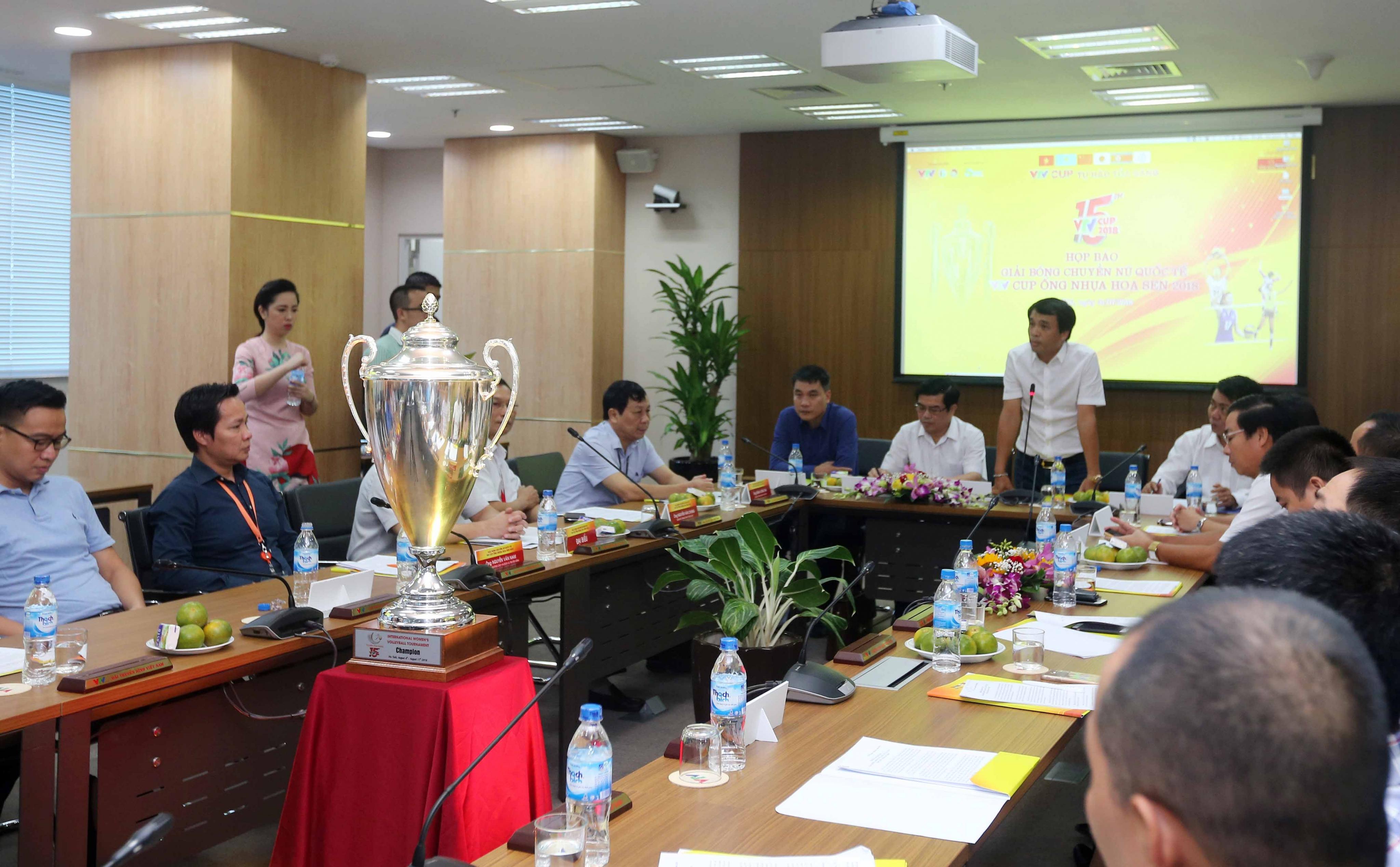 Giải bóng chuyền nữ Quốc tế VTV Cup Ống nhựa Hoa Sen 2018 hứa hẹn bất ngờ và hấp dẫn