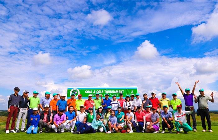 Giải Goal & Golf Tournament Moscow 2018 kết thúc thành công