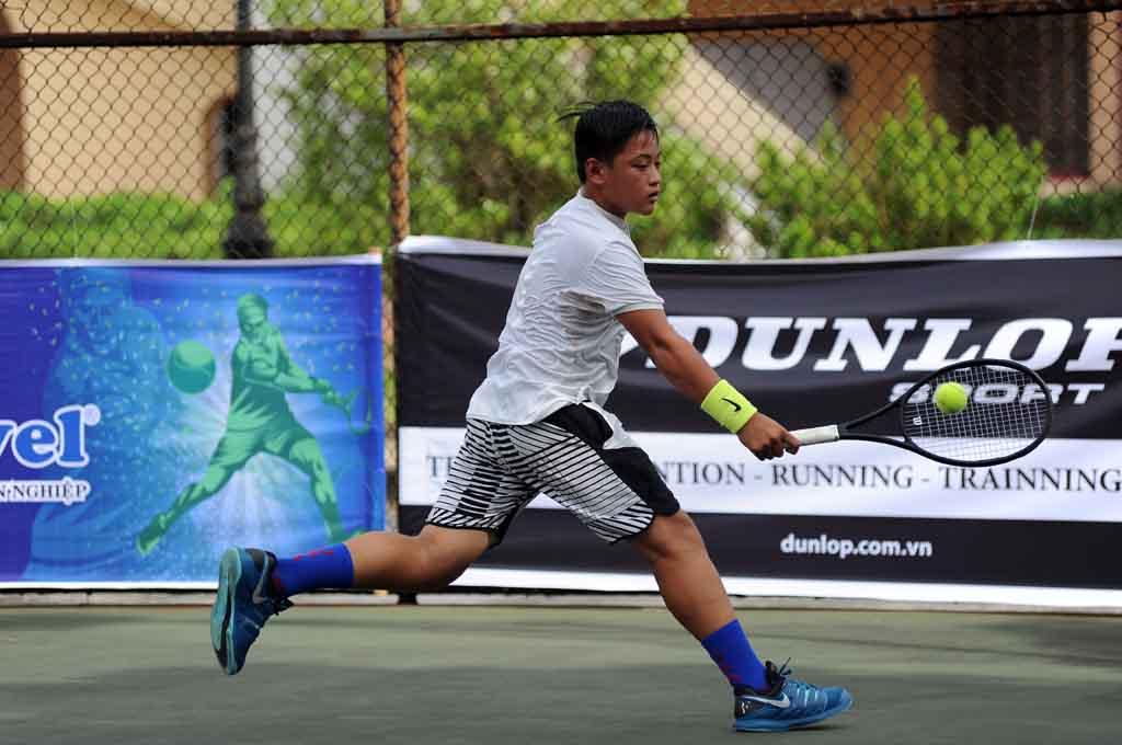 Kết quả ngày thi đấu đầu tiên của giải Quần vợt Vô địch Thanh thiếu niên toàn quốc