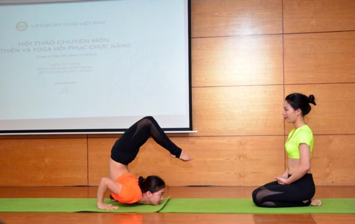 Hội thảo chuyên môn về thiền và Yoga hồi phục chức năng