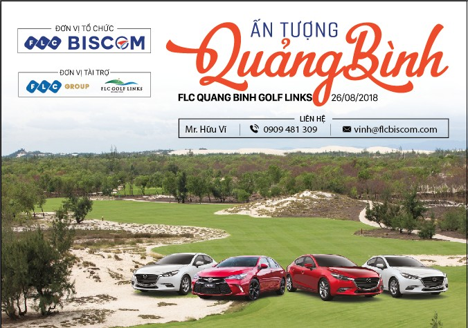 Ấn tượng Quảng Bình - Giải golf chào mừng Hội nghị xúc tiến đầu tư Quảng Bình 2018