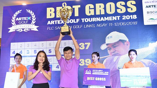 Artex Golf Tournament Plus 2018 sẽ khởi tranh từ 5-7/10/2018
