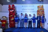 Đại lý 3S Hyundai Lê Văn Lương tại phố Vũ Phạm Hàm chính thức khai trương