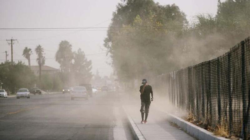Bang California đứng đầu nước Mỹ về ô nhiễm không khí