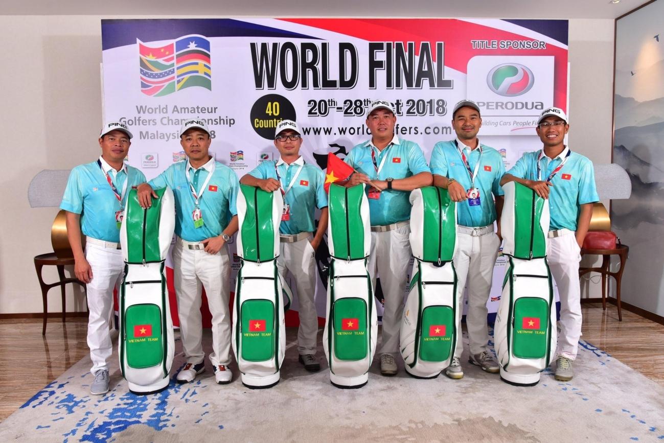 Đội tuyển Golf Việt Nam bảo vệ thành công vị trí số 1 Giải WAGC Thế giới