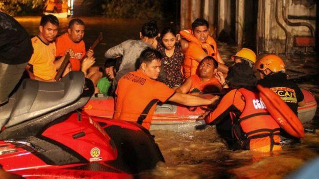 Hơn 133 người chết do bão Tembin ở Philippines