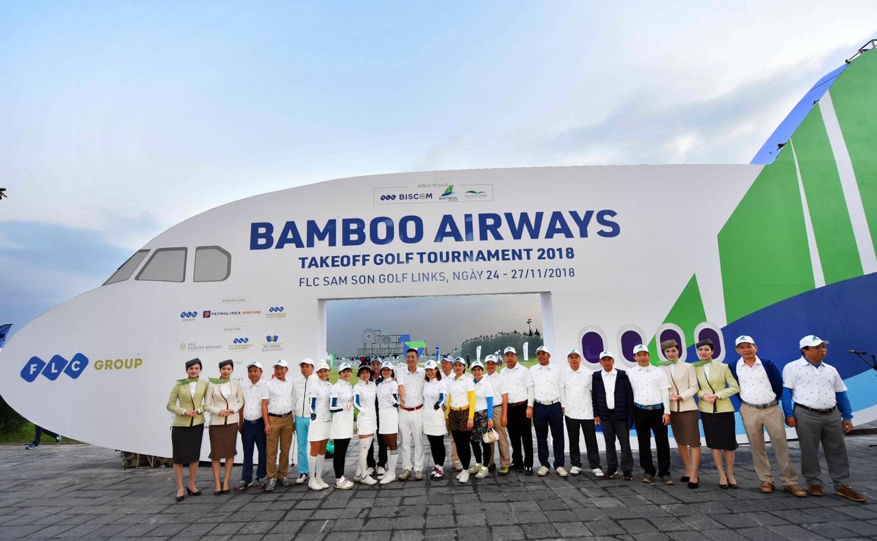 Chính thức khởi tranh giải Bamboo Airways Takeoff Golf Tournament 2018