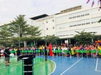 Khai mạc Vòng Chung kết Giải Bóng rổ Học sinh Tiểu học Hà Nội 2018