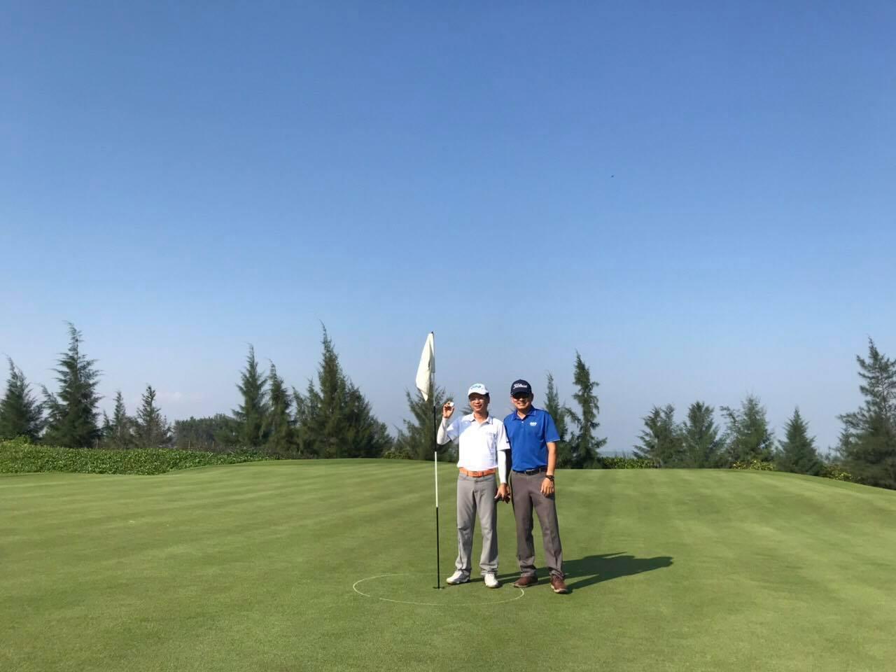 Golfer Nguyễn Anh Tuấn ghi điểm HIO với giá trị khủng tại FLC Group - 17th Anniversary Golf Tournament